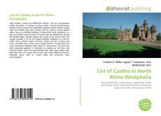 Buchcover von List of Castles in North Rhine-Westphalia