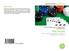 Bookcover of Marc Karam