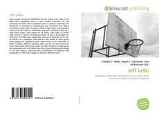 Capa do livro de Jeff Lebo