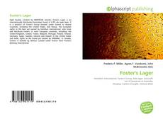 Bookcover of Foster's Lager