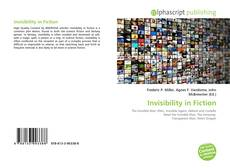 Обложка Invisibility in Fiction