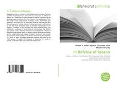 Capa do livro de In Defense of Reason