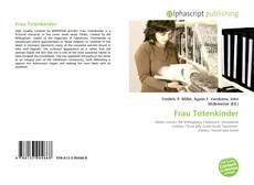 Bookcover of Frau Totenkinder