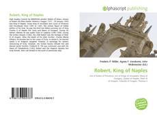 Bookcover of Robert, King of Naples