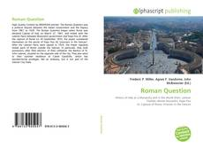 Buchcover von Roman Question