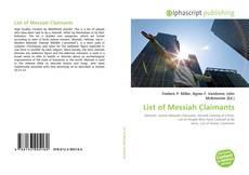 Capa do livro de List of Messiah Claimants