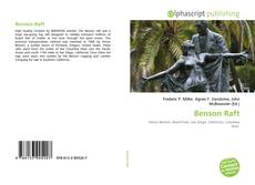 Bookcover of Benson Raft