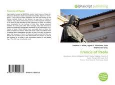 Francis of Paola的封面