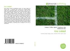 Bookcover of Eric Liddell