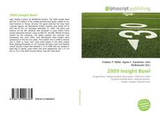 Bookcover of 2009 Insight Bowl