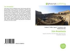 Bookcover of Ino Anastasia