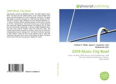 Bookcover of 2009 Music City Bowl