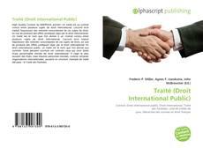 Couverture de Traité (Droit International Public)