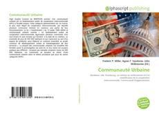 Bookcover of Communauté Urbaine