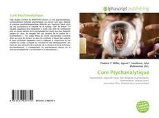Обложка Cure Psychanalytique