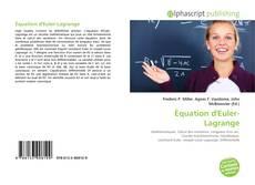 Équation d'Euler-Lagrange的封面