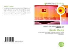 Copertina di Karate Champ