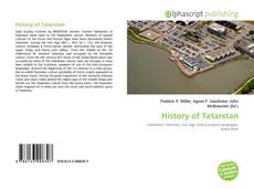 Buchcover von History of Tatarstan