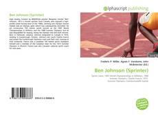 Portada del libro de Ben Johnson (Sprinter)
