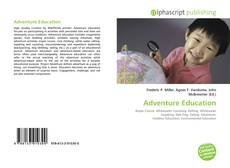 Capa do livro de Adventure Education
