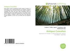 Antiguo Cuscatlan kitap kapağı