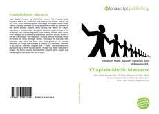 Couverture de Chaplain-Medic Massacre