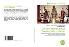 Borítókép a  List of People Who Have Been Considered Deities - hoz