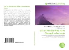 Portada del libro de List of People Who Have Claimed to be Jesus