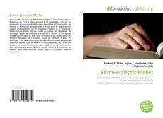 Couverture de Edme-François Mallet