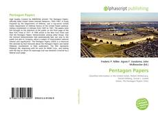 Bookcover of Pentagon Papers