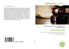 Lord Advocate的封面