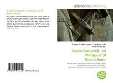 Buchcover von Gavin Campbell, 1st Marquess of Breadalbane