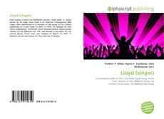 Copertina di Lloyd (singer)