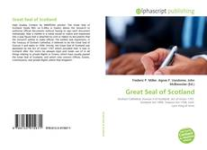 Bookcover of Great Seal of Scotland