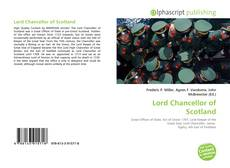 Bookcover of Lord Chancellor of Scotland