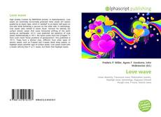 Bookcover of Love wave