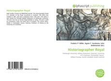 Bookcover of Historiographer Royal