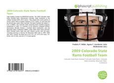 Обложка 2009 Colorado State Rams Football Team
