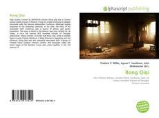Portada del libro de Rong Qiqi