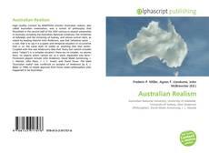 Обложка Australian Realism