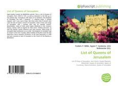 Buchcover von List of Queens of Jerusalem