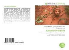 Bookcover of Garden Ornament