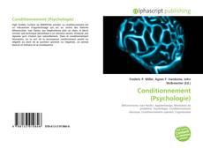 Capa do livro de Conditionnement (Psychologie)
