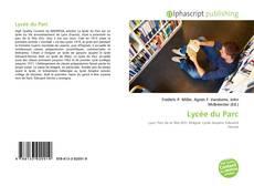 Capa do livro de Lycée du Parc