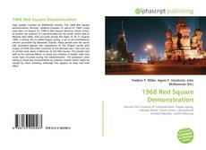 Bookcover of 1968 Red Square Demonstration