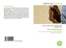 Buchcover von Iván Rodríguez