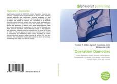 Capa do livro de Operation Damocles