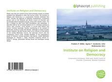 Institute on Religion and Democracy的封面