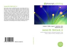 Buchcover von James W. McCord, Jr