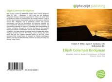 Copertina di Elijah Coleman Bridgman